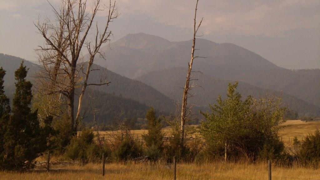 absaroka range view