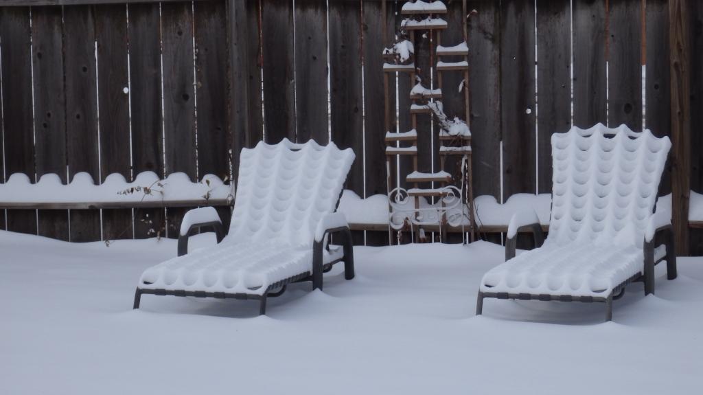 snow sculpt chairs