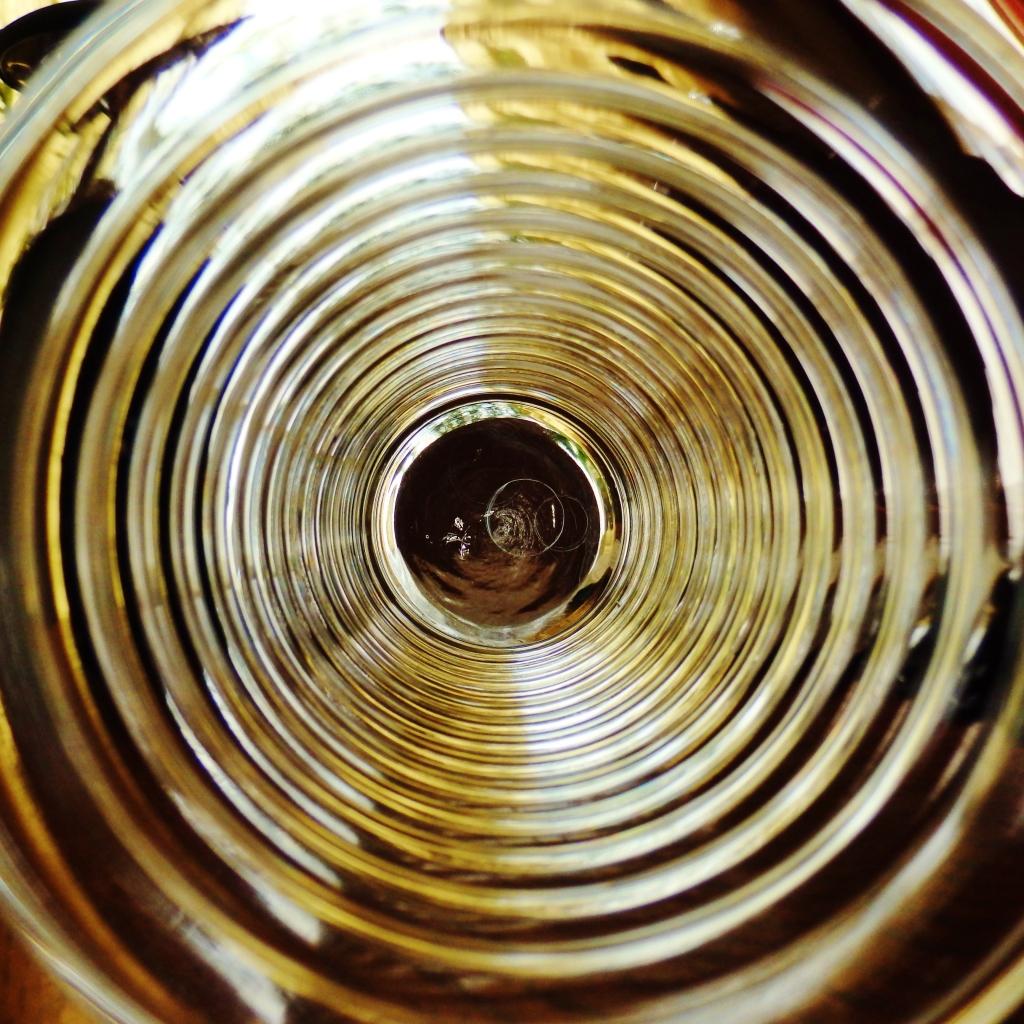 gold circular